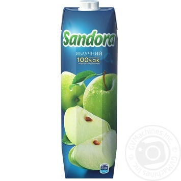 Сік Sandora яблучний 950мл - купити, ціни на Метро - фото 3