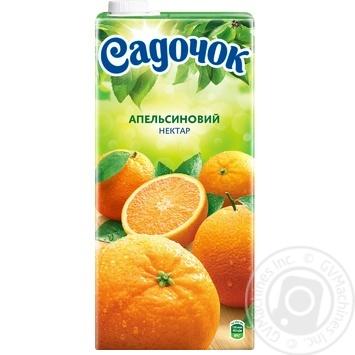 Нектар Садочок апельсиновий 1,93л - купити, ціни на Метро - фото 4