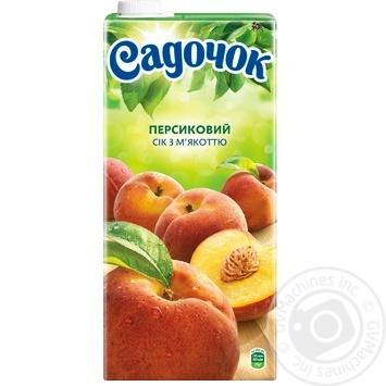 Сік Садочок персиковий 1,93л - купити, ціни на Метро - фото 4