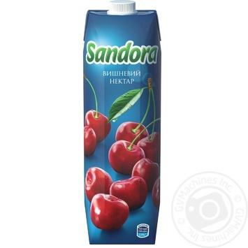 Нектар Sandora вишневий 950мл - купити, ціни на Novus - фото 3
