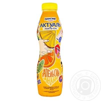 Danone Actual With Orange-Pineapple Lacto-juice 0% 580g