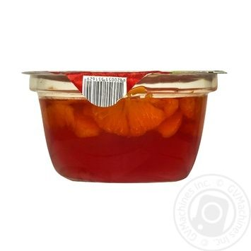 Десерт фруктовий Джоліно Мандарин в желе з нектаром червоного апельсину 150г - купити, ціни на Novus - фото 3