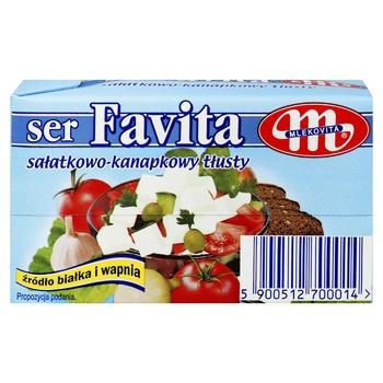 Сир Mlekovita Favita м'який солений 45% 270г - купити, ціни на Метро - фото 3
