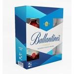 Ballantine's Finest whisky 40% 0,7l + 2 glass