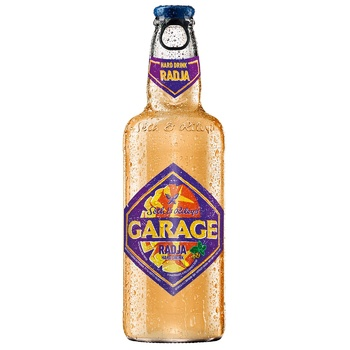 Пиво Seth & Riley's Garage Radja светлое специальное пастеризованное 4,6% 0,44л - купить, цены на Метро - фото 1