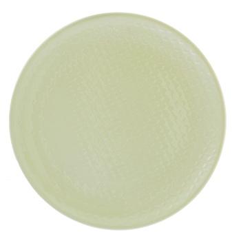 Тарелка Actuel суповая керамическая серая 22см