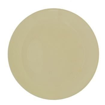 Тарелка Actuel десертная керамическая бежевая 20,5см