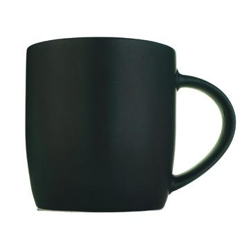 Чашка S&T керамічна чорна 330мл - купити, ціни на Ашан - фото 1