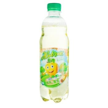Напій безалкогольний Живчик з соком яблука соковий сильногазований 0,5л