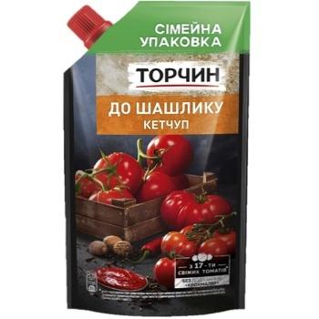 Кетчуп ТОРЧИН® к Шашлыку 540г - купить, цены на МегаМаркет - фото 1