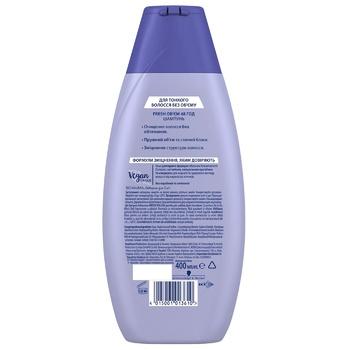 Шампунь-лифтинг Schauma Fresh Объем без силикона для склонных к жирности волос 400мл - купить, цены на Novus - фото 2