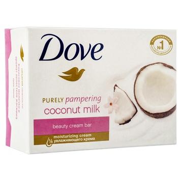 Крем-мыло Dove Кокосовое молочко и лепестки жасмина 135г - купить, цены на Varus - фото 2