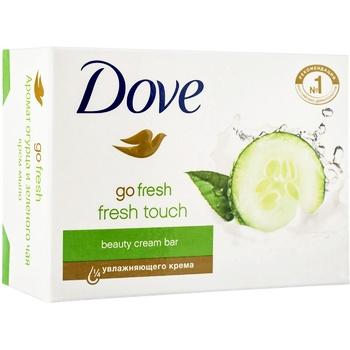 Крем-мыло Dove Прикосновение свежести 135г - купить, цены на МегаМаркет - фото 2