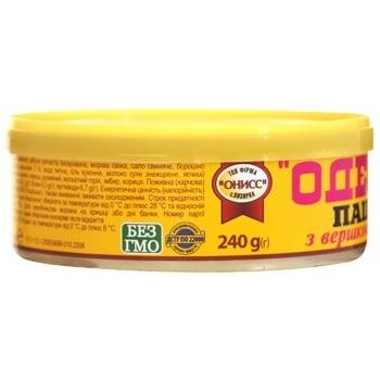 Паштет печінковий Онісс Одеський з вершковим маслом 240г - купити, ціни на Novus - фото 4