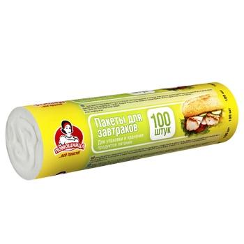 Пакеты для завтрака Помощница 100шт - купить, цены на Novus - фото 2