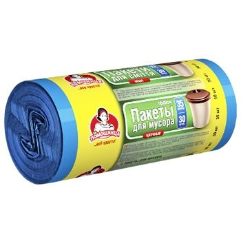 Pomichnytsya Strong Garbage Bags 35l 30pcs - buy, prices for Auchan - photo 2