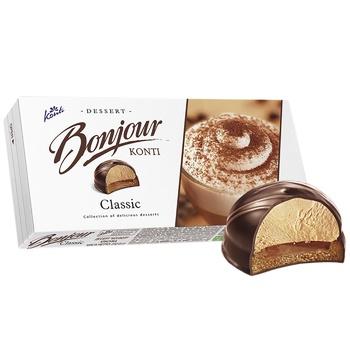 Десерт Konti Bonjour классика 232г - купить, цены на Ашан - фото 2