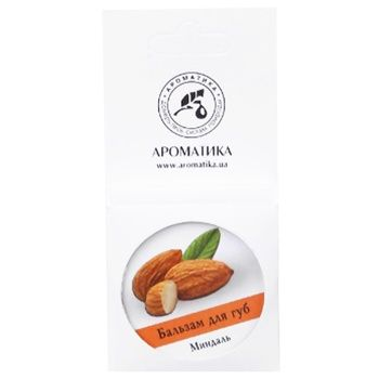 Balsam Aromatika with almonds for lips 10g - buy, prices for MegaMarket - image 2