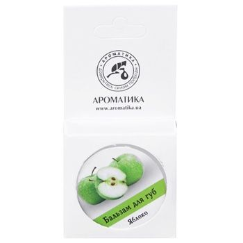 Balsam Aromatika with apple for lips 10g - buy, prices for MegaMarket - image 2