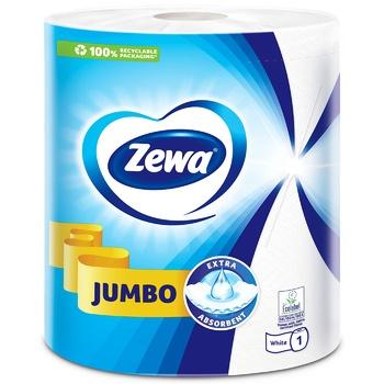 Рушники кухонні Zewa Design Jumbo паперові - купити, ціни на Ашан - фото 3