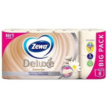 Zewa Deluxe Aroma Spa Toilet Paper 8pcs - buy, prices for Novus - image 2