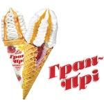 Мороженое Ласунка Гран-При Клубника-Манго пломбир с кусочками фруктов в рожке 145г - купить, цены на Novus - фото 2