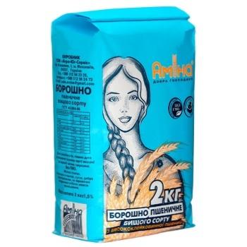 Amina wheat flour 2000g - buy, prices for Metro - photo 3