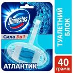 Блок для унітазу Domestos Атлантік гігіенічний 40г - купити, ціни на ЕКО Маркет - фото 4