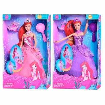 Defa Lucy Mermaid Doll - buy, prices for MegaMarket - image 3