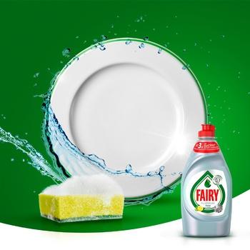 Средство для мытья посуды Fairy Platinum Лимон и лайм 430мл - купить, цены на Восторг - фото 3