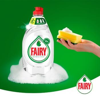 Засіб для миття посуду Fairy Pure & Clean 450мл - купити, ціни на Метро - фото 3
