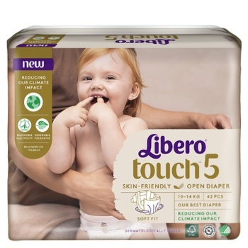 Libero Touch 5 diapers for children 10-14kg 42 pieces - buy, prices for CityMarket - photo 6