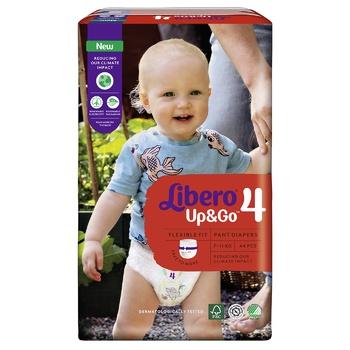 Подгузники-трусики Libero Up&Go 4 7-11кг 44шт - купить, цены на Ашан - фото 5