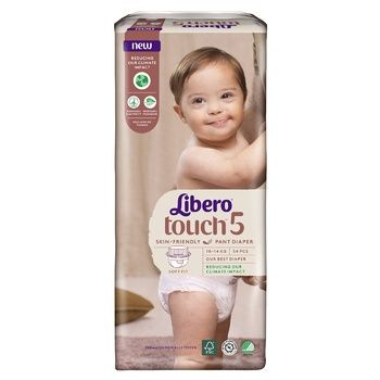 Подгузники-трусики Libero Touch 5 10-14кг 36шт - купить, цены на Восторг - фото 6