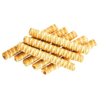 Вафельні трубочки Деліція зі смаком пряженого молока 500г - купити, ціни на CітіМаркет - фото 3