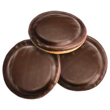 Печиво Деліція здобне з вишнею вагове - купити, ціни на Ашан - фото 3