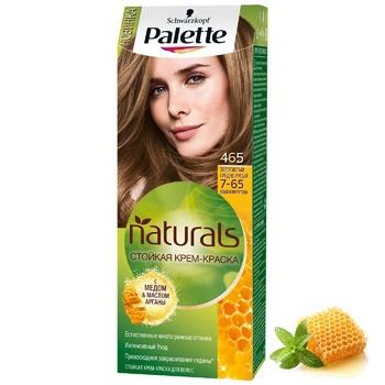 Крем-фарба для волосся Palette Naturals 7-65 (465) Золотистий середньо-русявий 110мл - купити, ціни на CітіМаркет - фото 5
