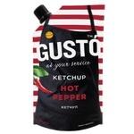 Gusto Hot Pepper Ketchup 250g
