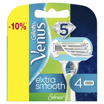 Картриджи для бритья Gillette Venus Embrace сменные 4шт - купить, цены на Метро - фото 6