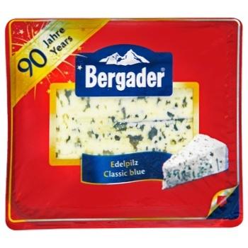 Сир Бергадер Еделпілц з блакитною цвіллю 50% 100г - купити, ціни на CітіМаркет - фото 1