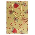 Пакет подарочный Астракардс №3 16*24*7см
