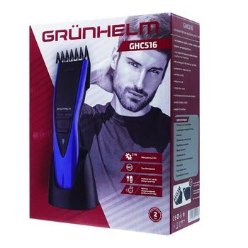 Машинка для стрижки Grunhelm GHC516 аккумуляторная