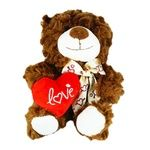М'яка іграшка Ведмідь з серцем 25см