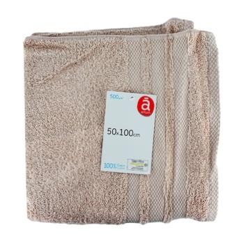 Полотенце Actuel Pearl хлопок 500GSM 50*100см - купить, цены на Ашан - фото 1
