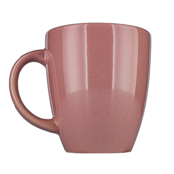 Actuel Ceramic Pink Cup 300ml - buy, prices for Auchan - photo 1