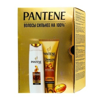 Pantene Intensive recovery Gift set Shampoo 250ml, balsam 200ml - buy, prices for Auchan - photo 1