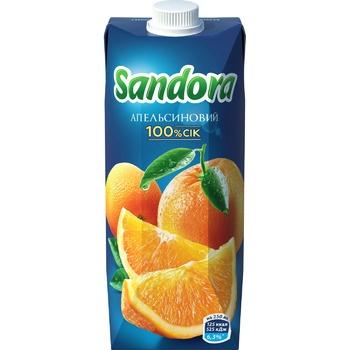 Сок Sandora апельсиновый 0,5л - купить, цены на ЕКО Маркет - фото 3