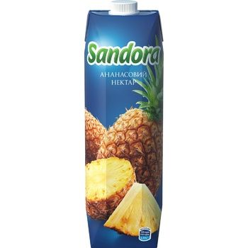 Нектар Sandora Ананас 950мл - купить, цены на Ашан - фото 3