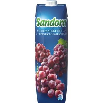 Нектар Sandora из красного винограда 0,95л - купить, цены на Метро - фото 3