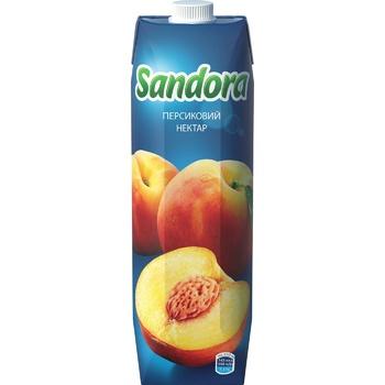 Нектар Sandora персиковый 0,95л - купить, цены на Ашан - фото 3